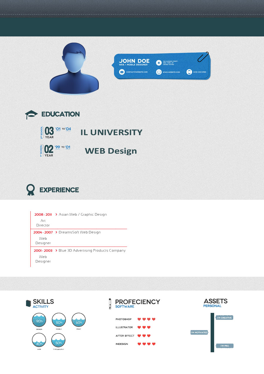Download Creative Resume Formats 2016  Best Professional Resume Format